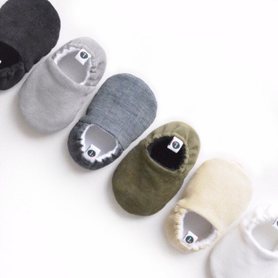 3 Loafie Corduroy Baby Shoes