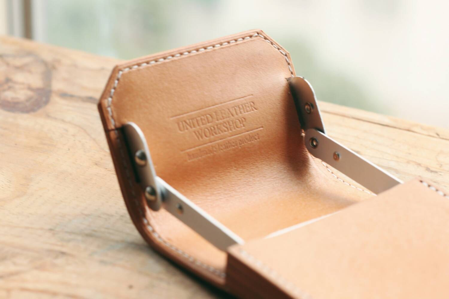 3 Natural Business Card Case