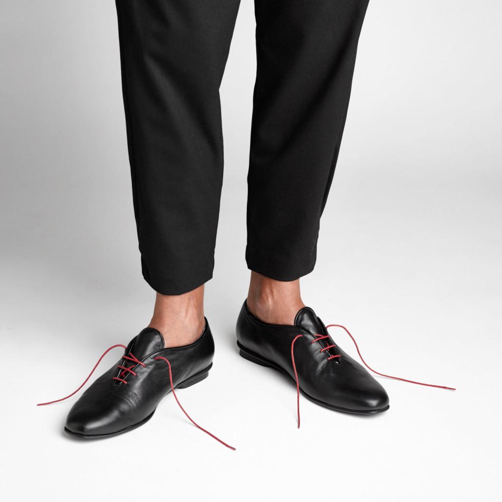 3 black oxford men shoes