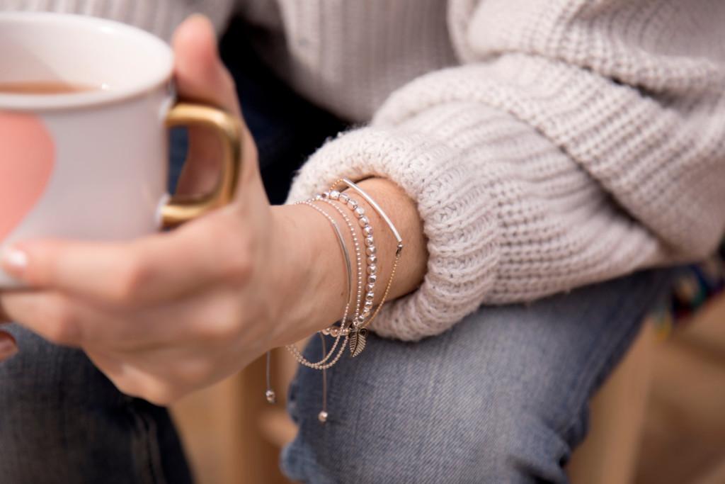 4 Bracelets Si Simple handmade in Montreal