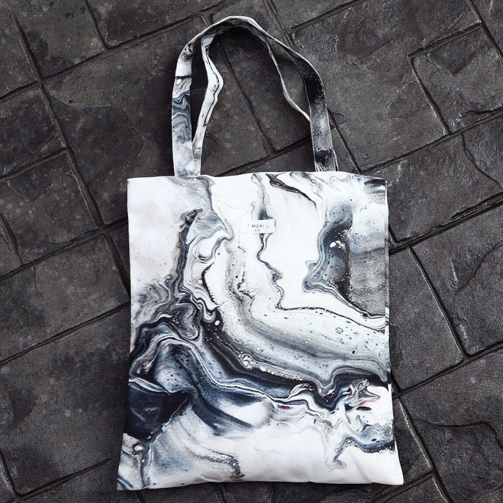 4 Melting and Flow High Quality Canvas tote bag