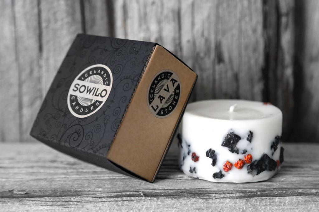 01 Genuine Icelandic Soy Wax Candle