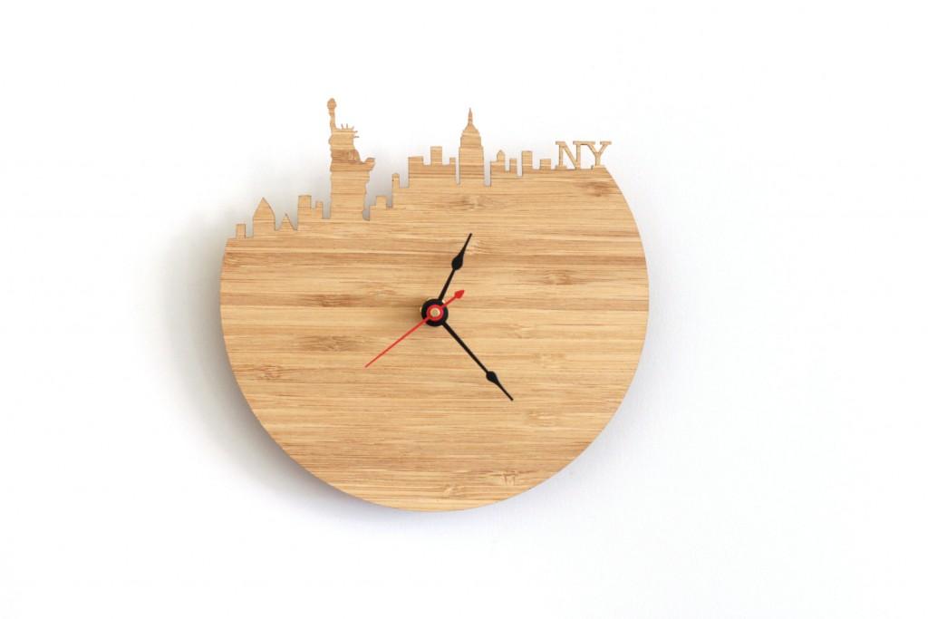 01 New York Wall Clock