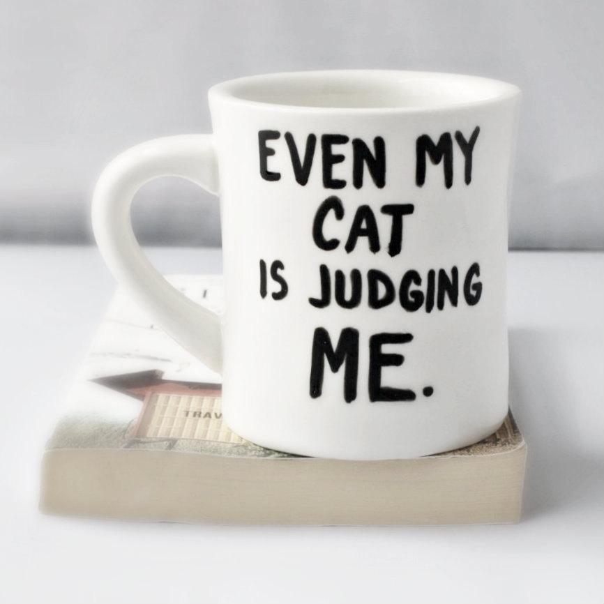 02 Cat Funny Mug