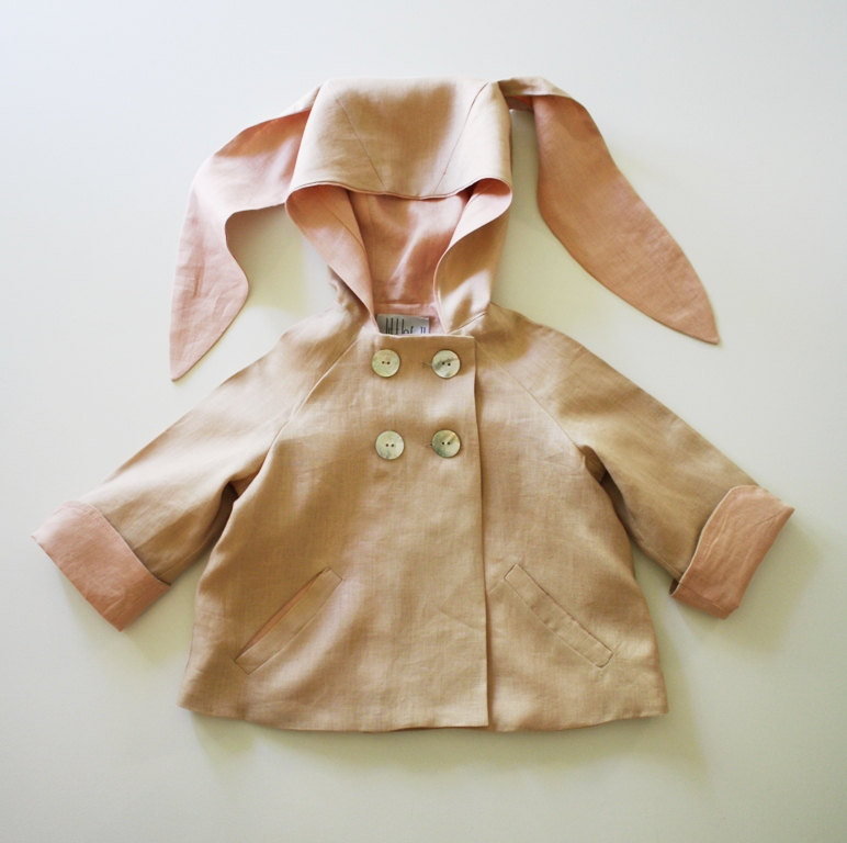 02 Summer Linen Bunny Coat
