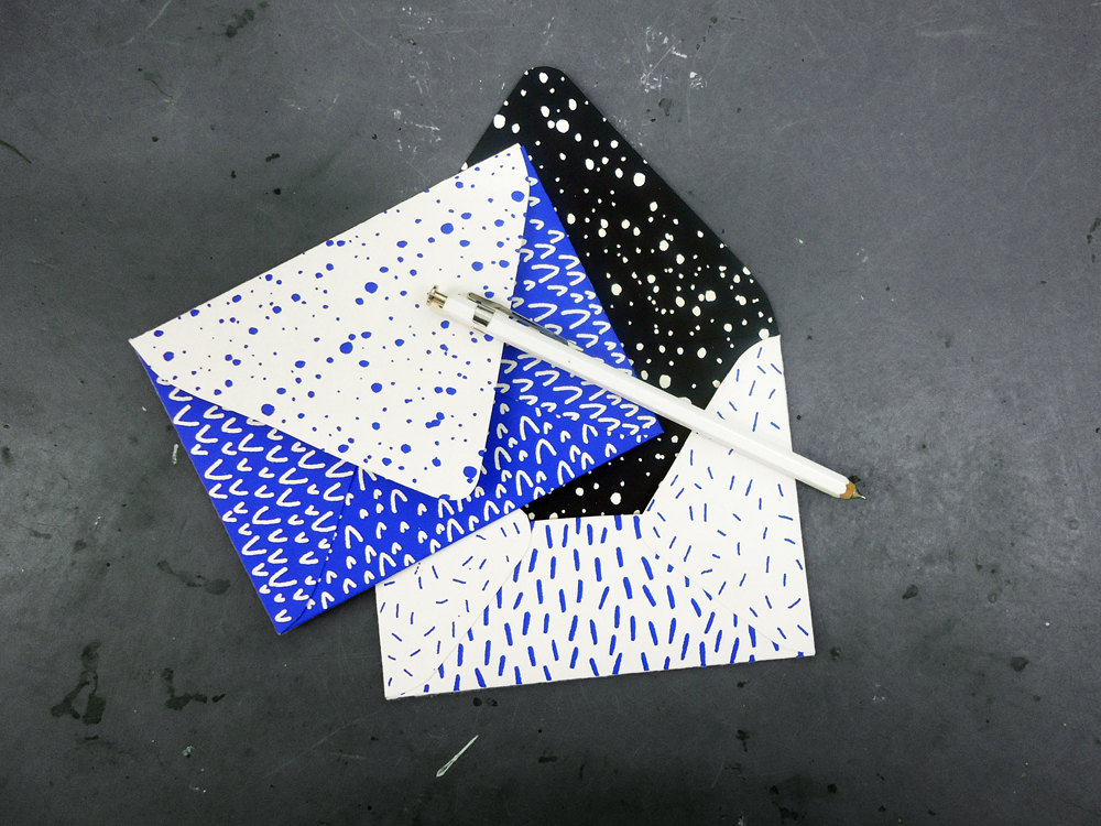 05 Screenprinted Envelopes