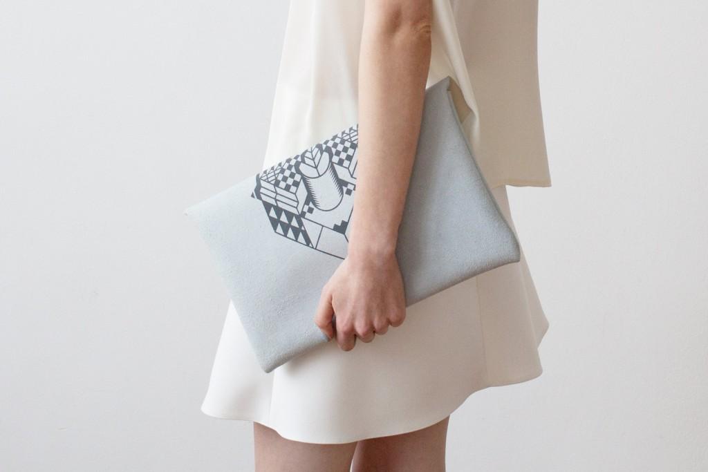 01 Envelope Bag Geometrical Illusion