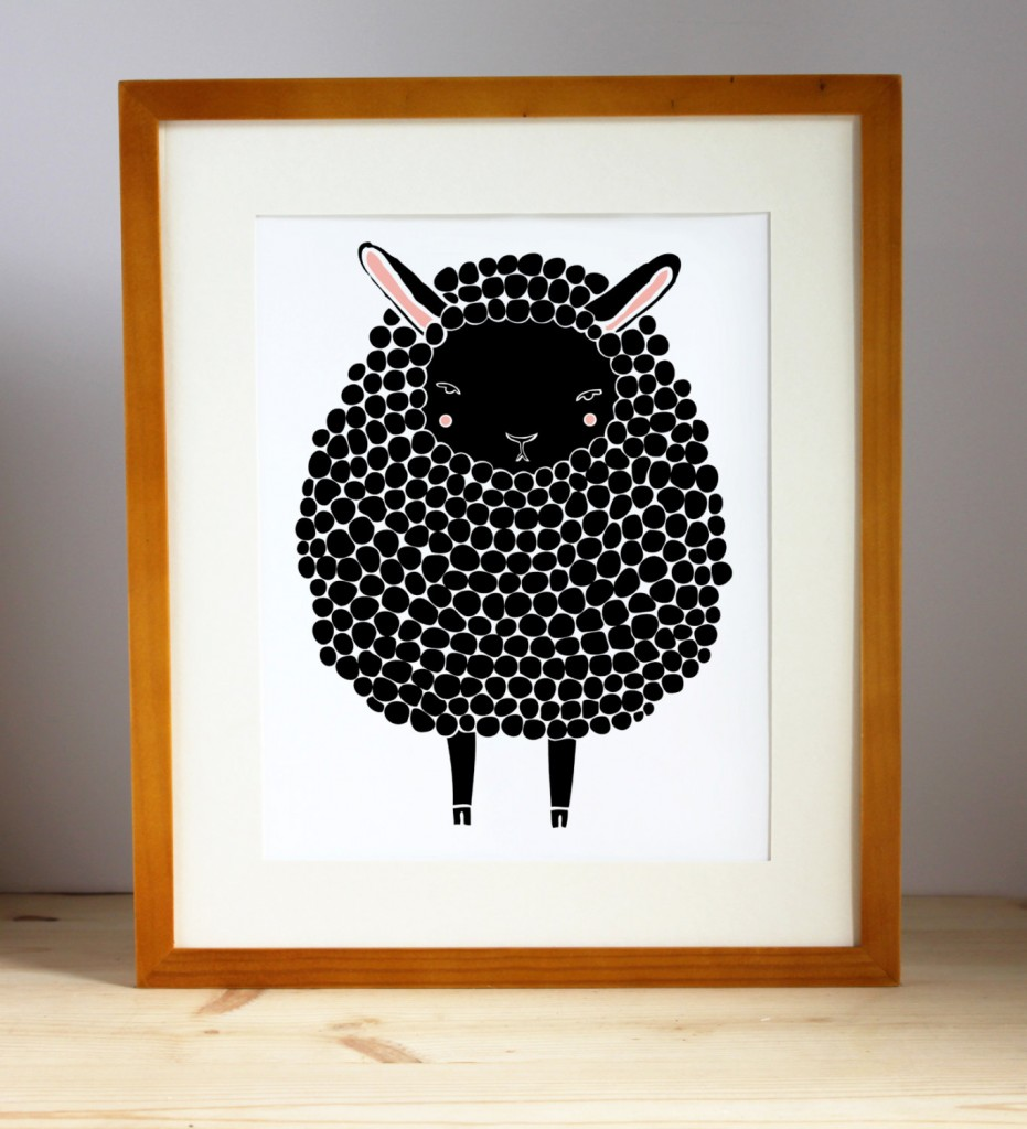 02 Black Sheep Illustration