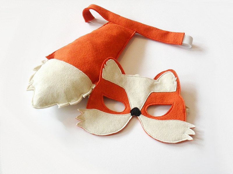 02 Fox Mask and Tail for Children