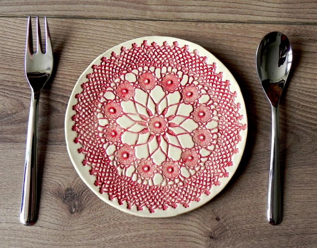 02 Rustic Ceramic Plate