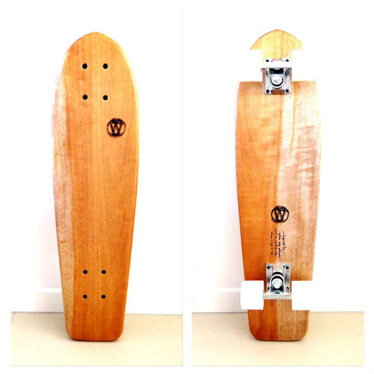 02 handshaped vintage skateboard