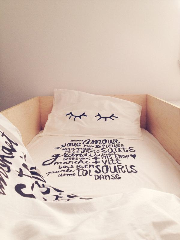 03 Literie BODODO Bedding crib set