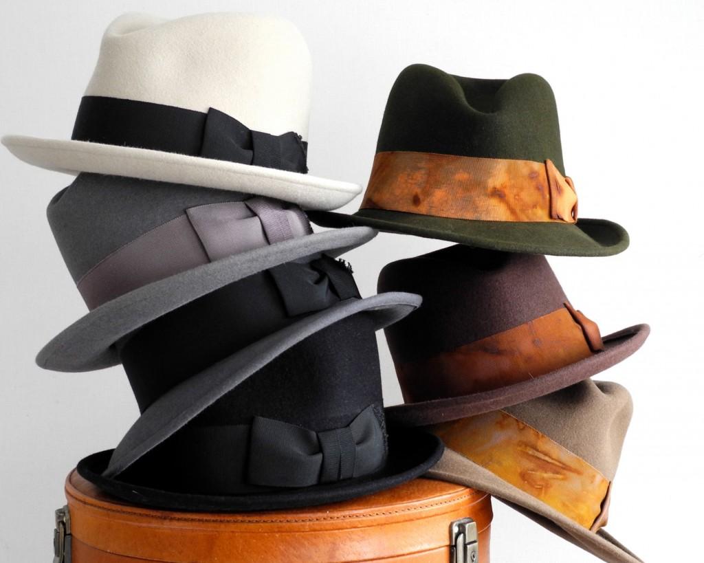 03 Mens Felt Fedora Hat