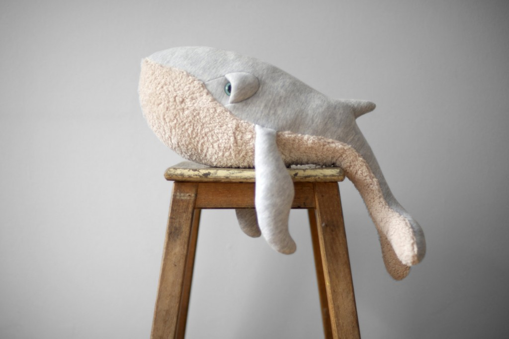 03 Small Whale Stuffed Animal