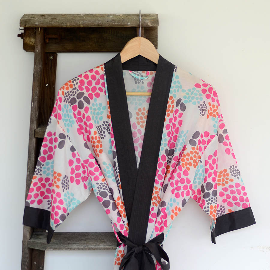 01 Digitally Printed Dressing Gown