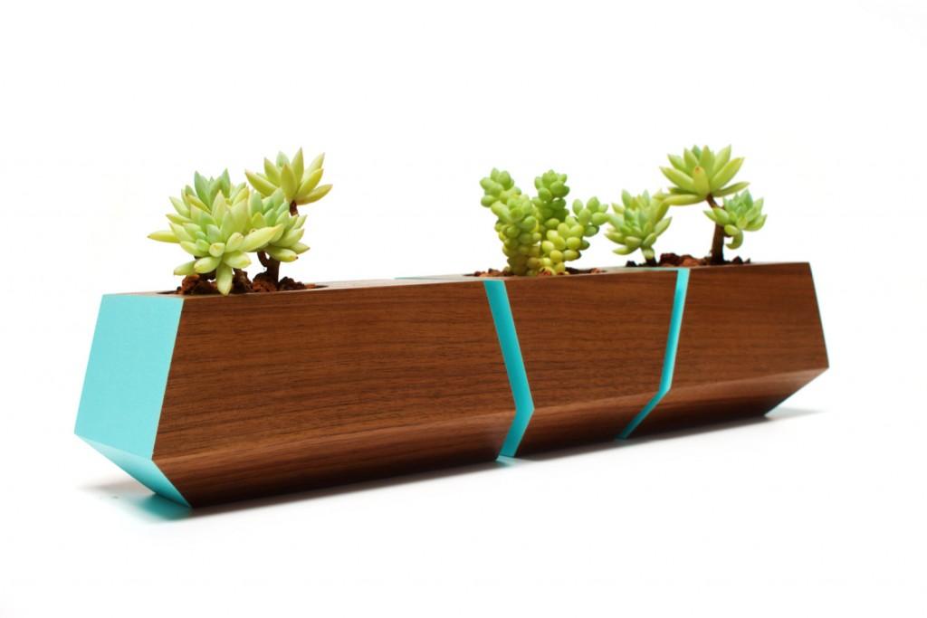 03 Boxcar Succulent Planters