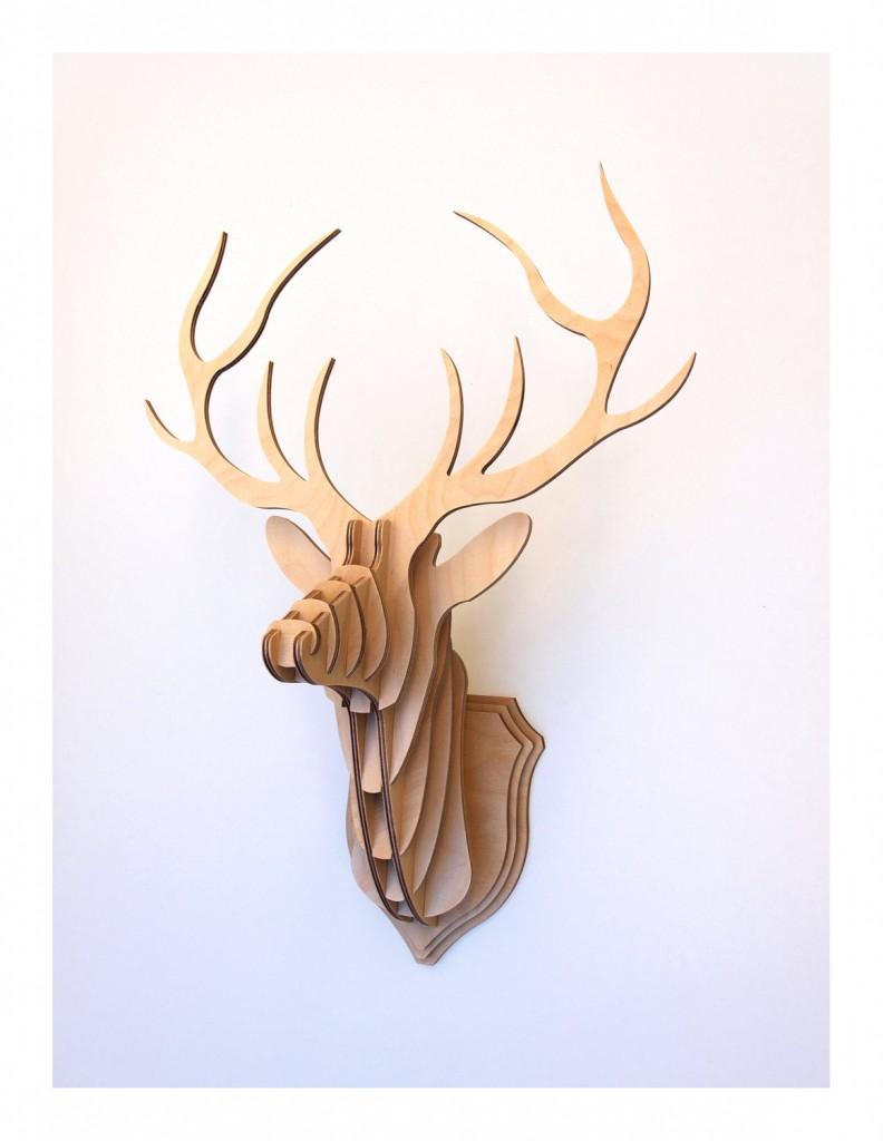 04 Deer Head Stag Trophy