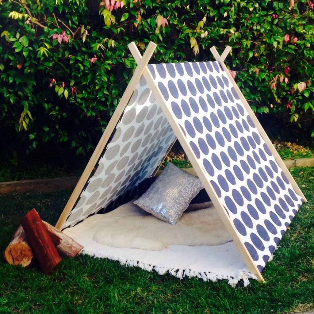 05 Kids indoor and outdoor A frame tee pee