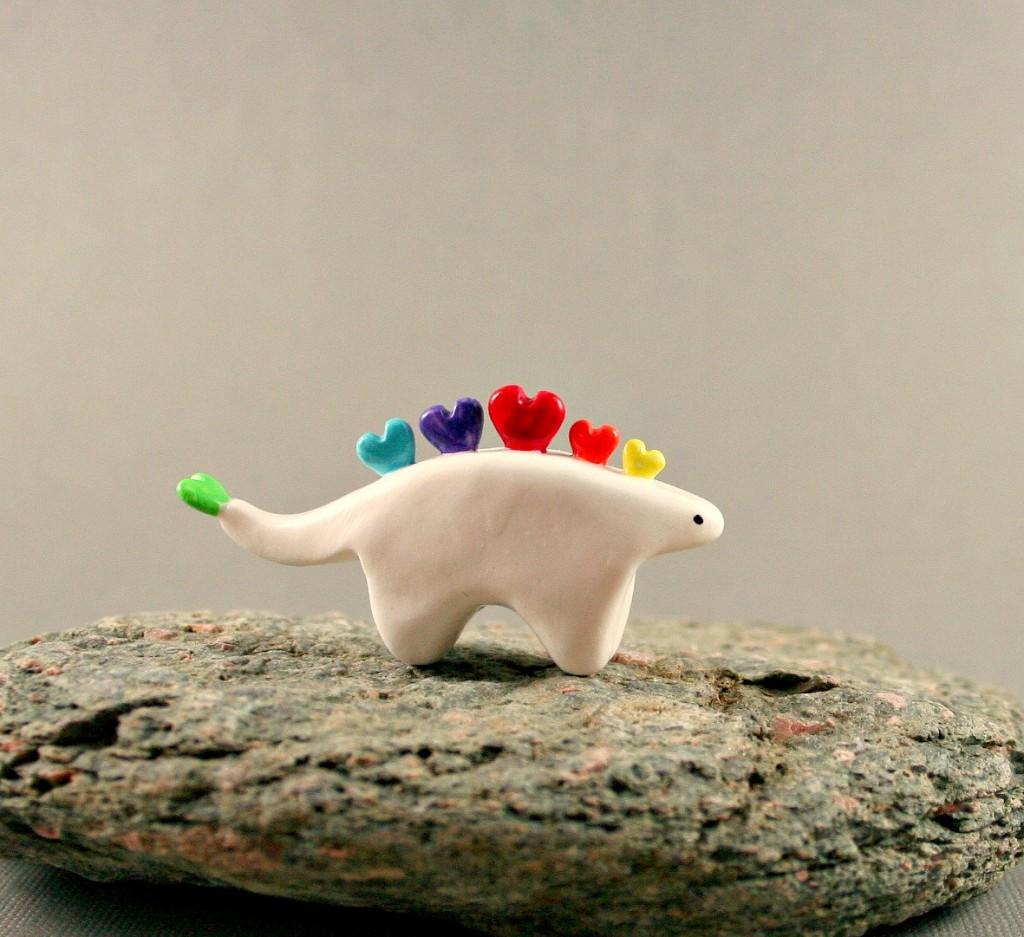 1 Little Rainbow Stegosaurus