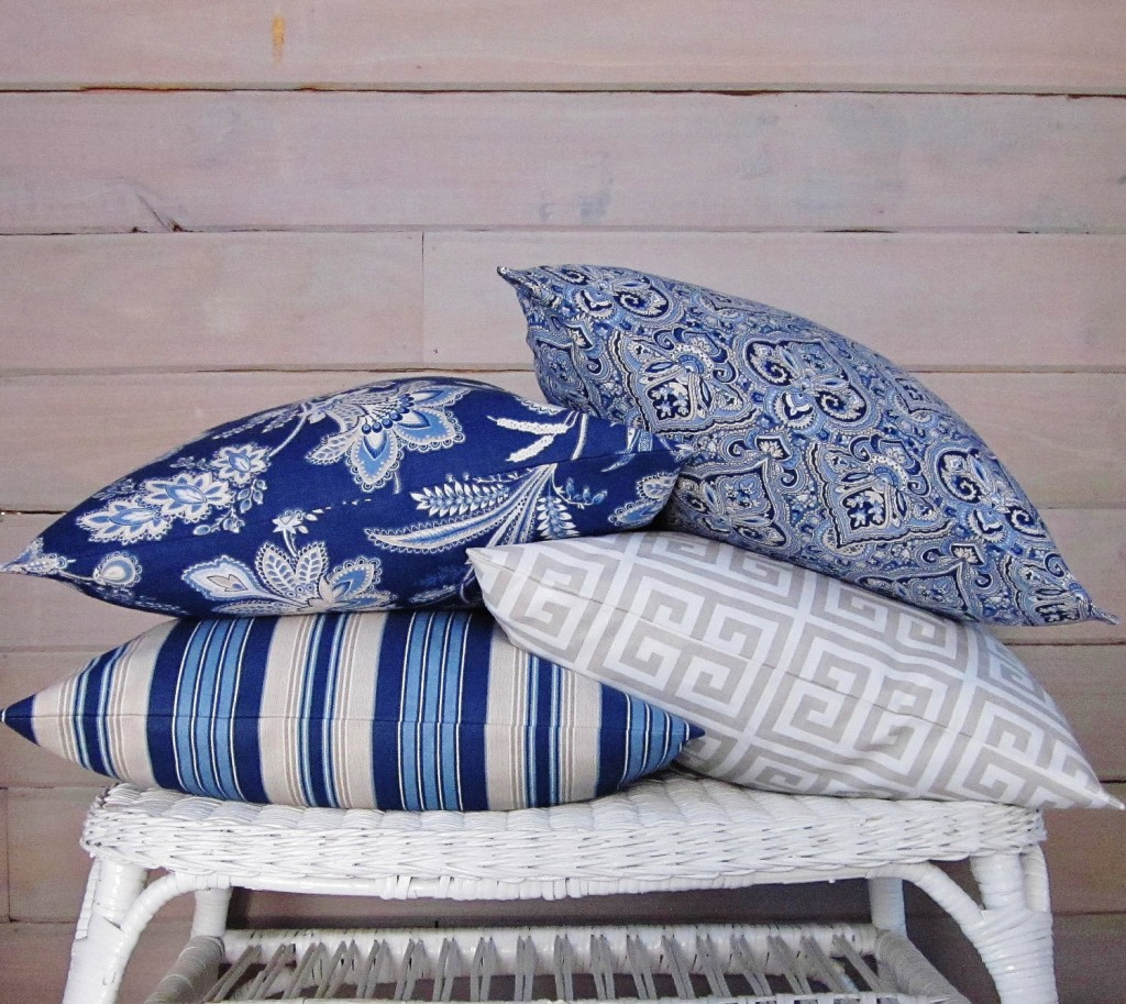 1 Navy Blue Pillow Cover