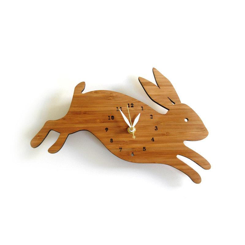 1 Rabbit wall clock