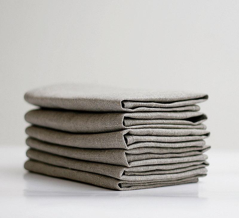 4 Linen napkin