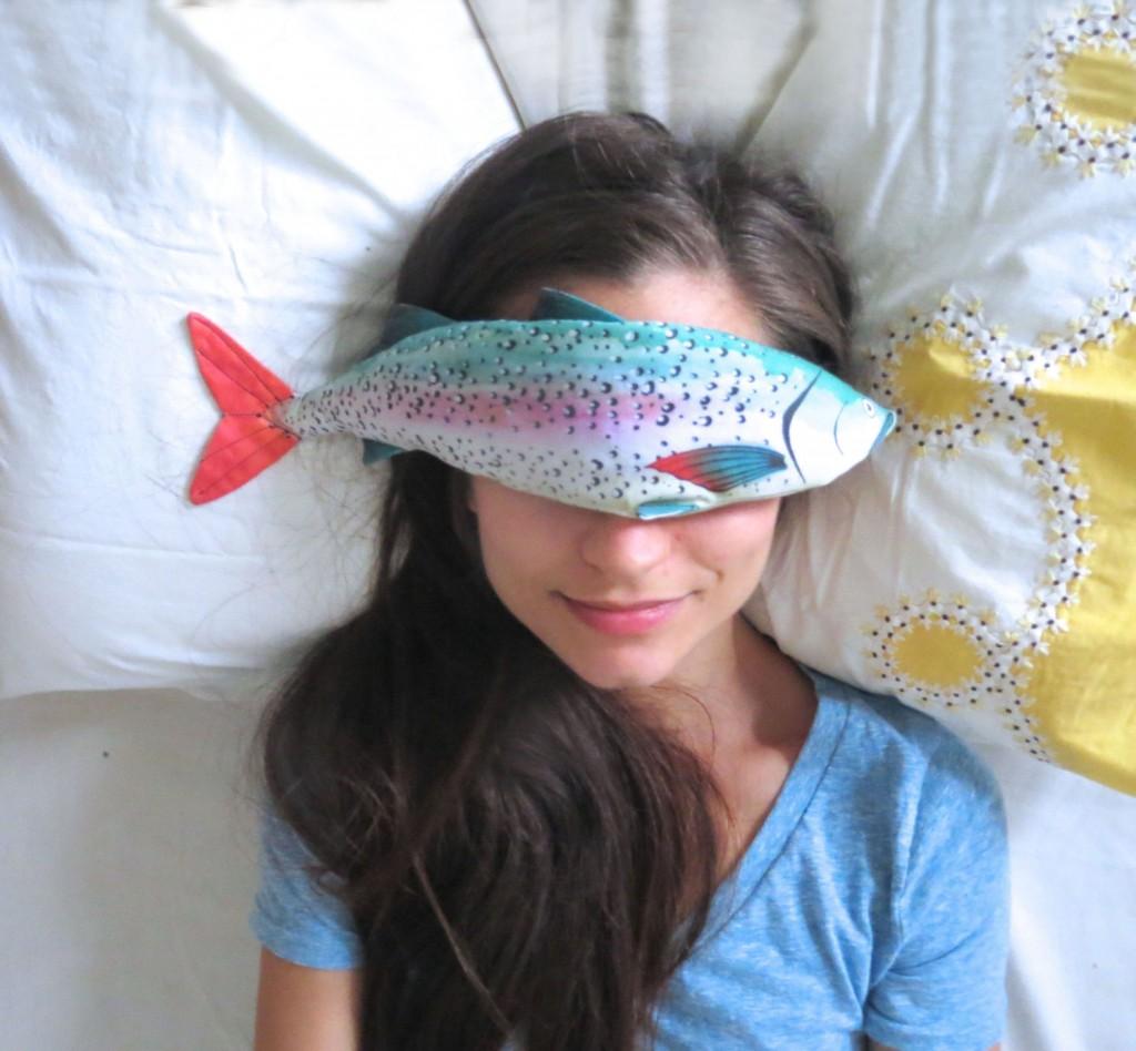 5 Fish Lavender Eye Pillow