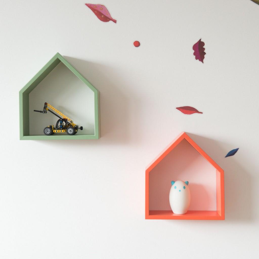 5 Modern handmade wall shelf