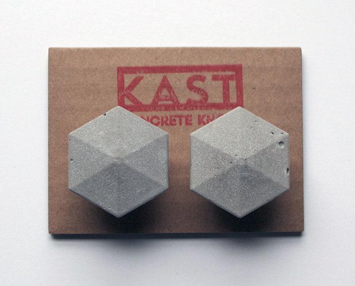 1 LEIA concrete knobs