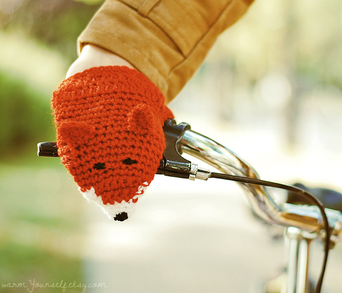 2 BIKE FOX HANDWARMERS