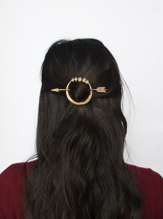 3 Artemis hair pin