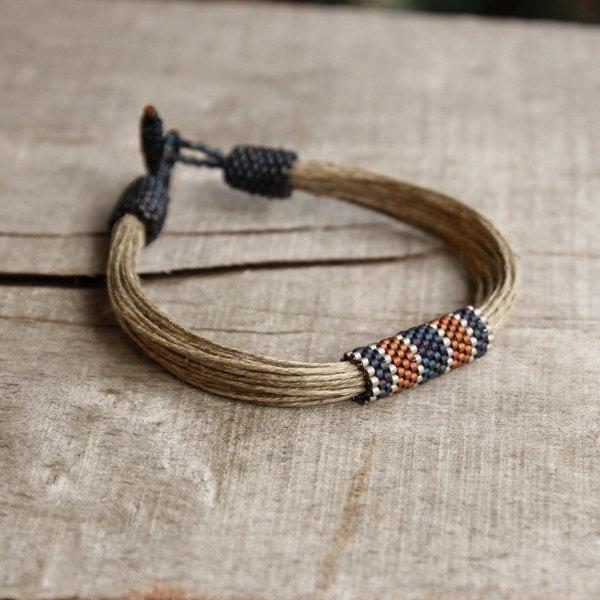 3 Nautical mens bracelet