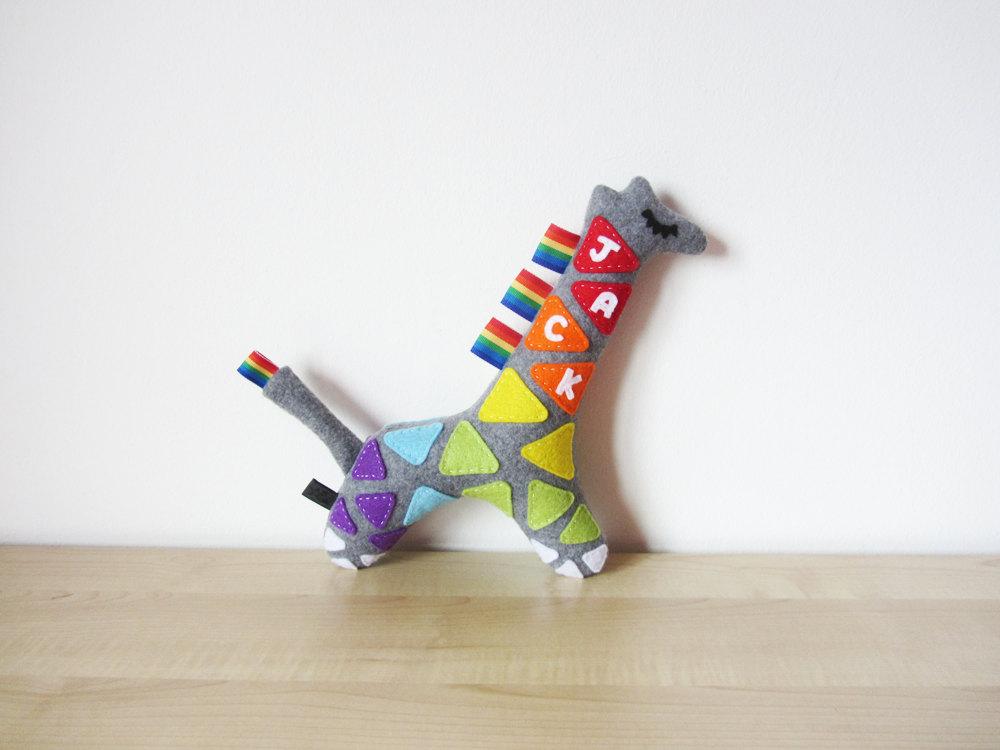 4 Name Giraffe Toy