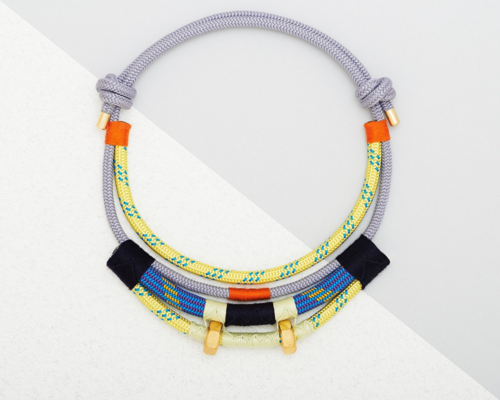 5 Climbing rope necklace