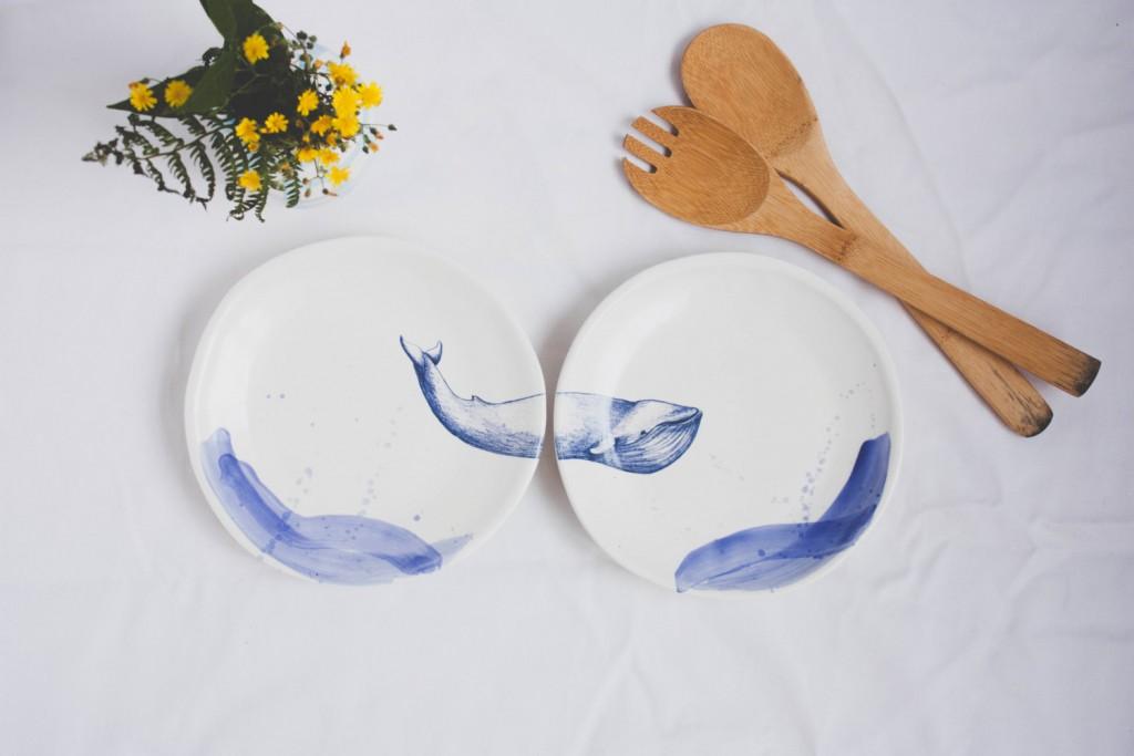5 Whale plates