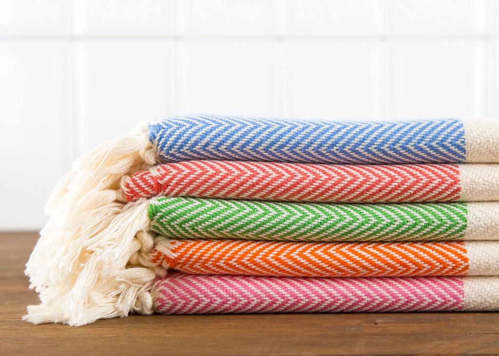 2 Herringbone Hand Towel