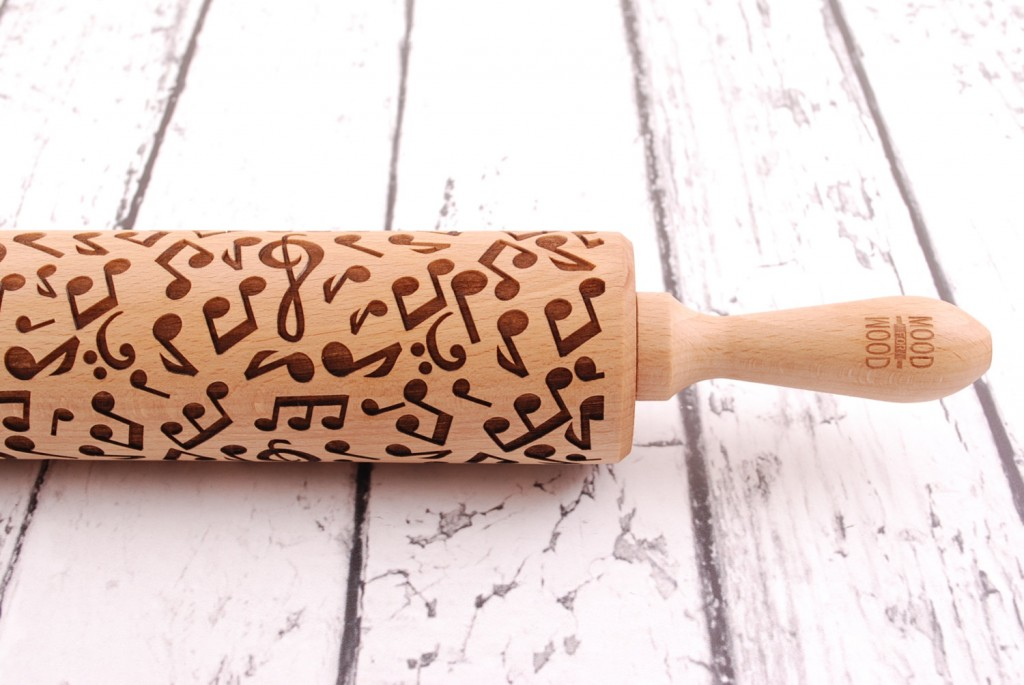 4 MUSIC - embossing rolling pin