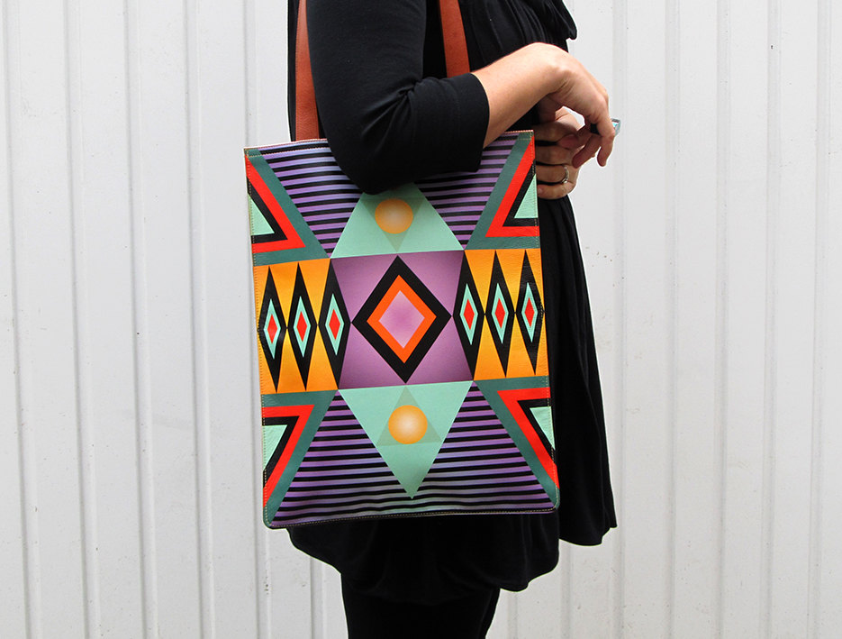 5 Leather Tote