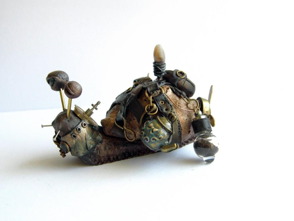 Teapunk Snail