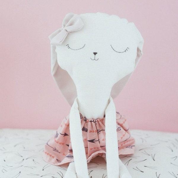 2 Benita the bunny handmade doll