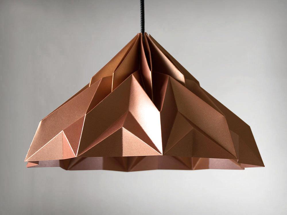2 MAKE A WISH origami lampshade