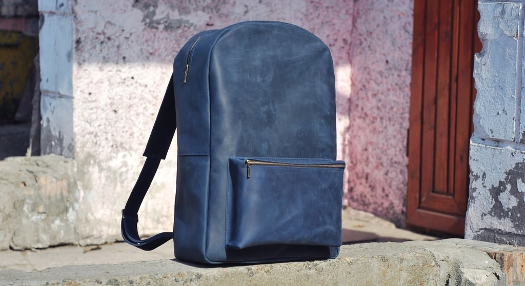 3 Genuine leather backpack