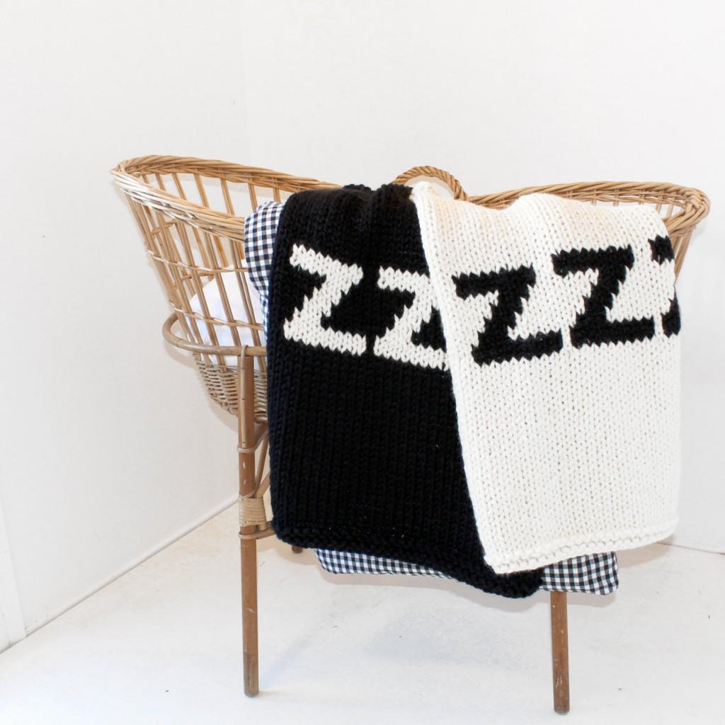 4 ZZZ Baby Blanket