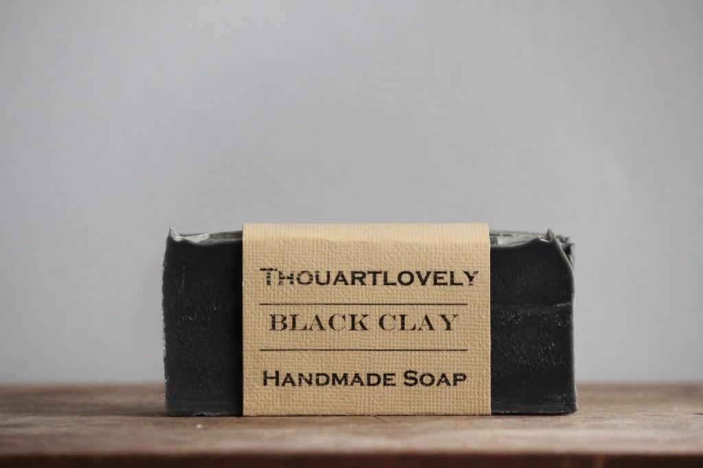 2 Black Clay Soap