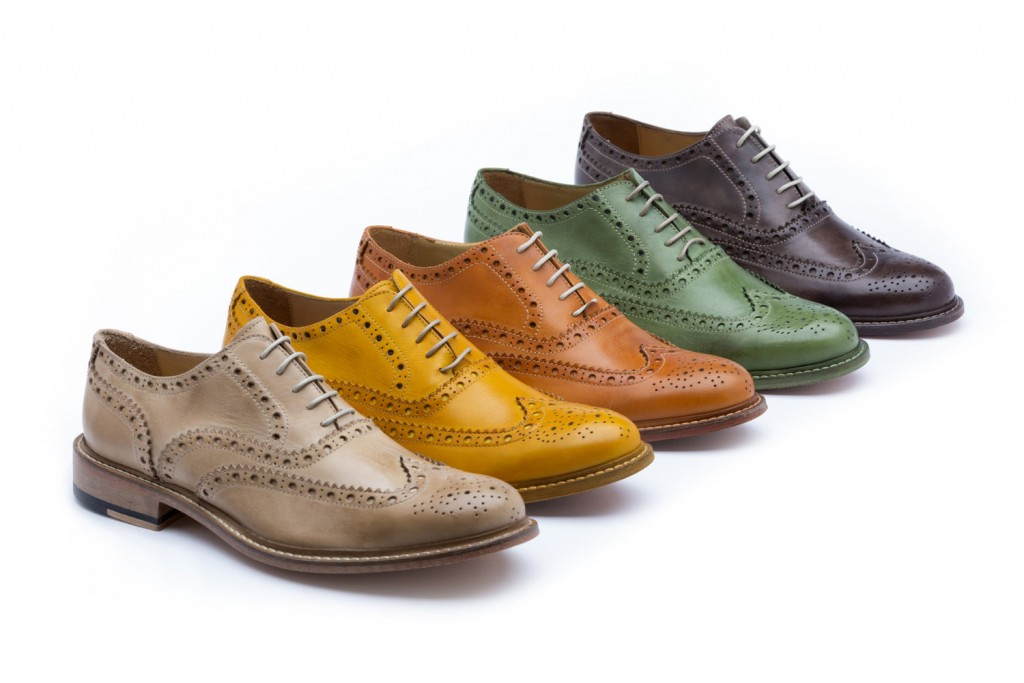 4 Handcrafted Italian Wingtip Shoes