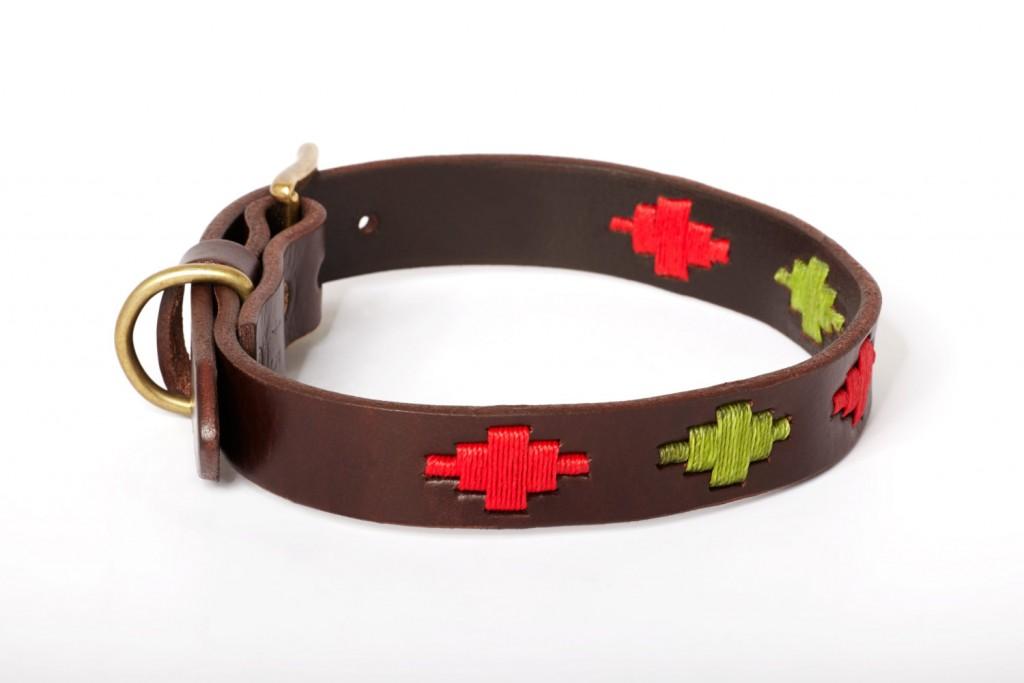 5 Dog leather collar