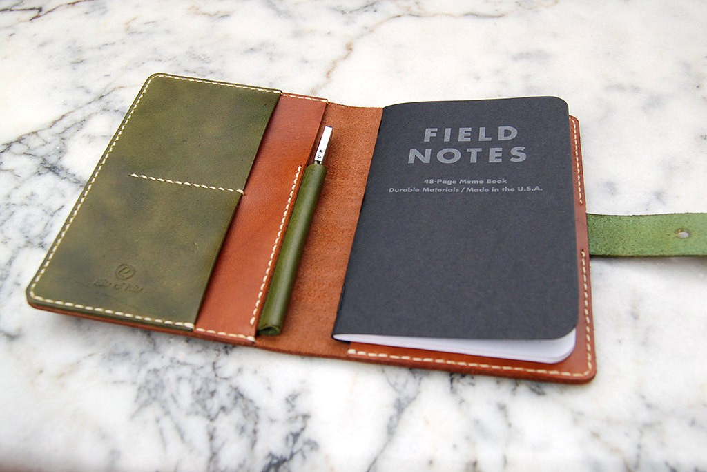 4 Field Notes Leather Cover