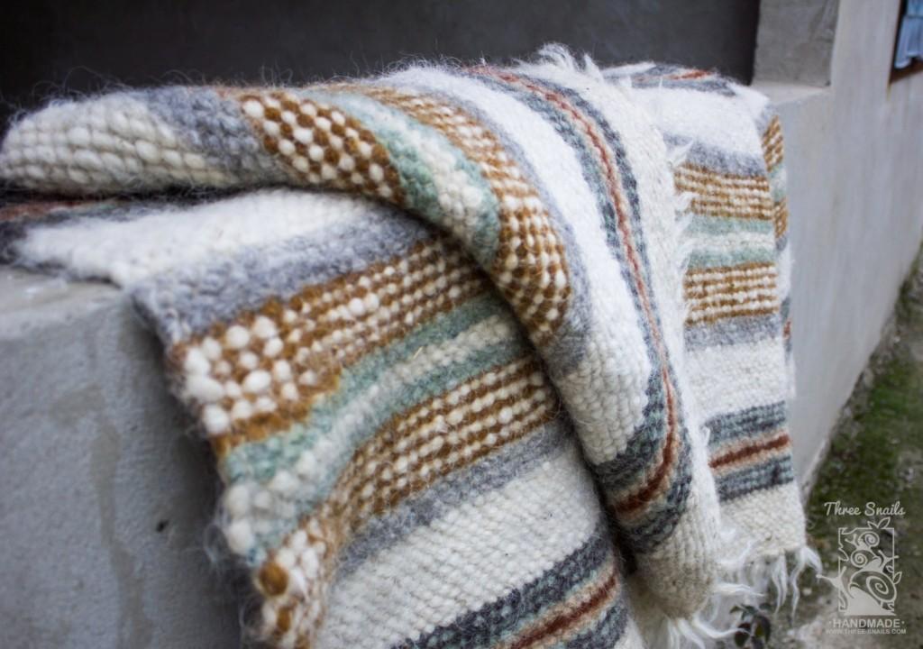4 Scandinavian Wool Blanket