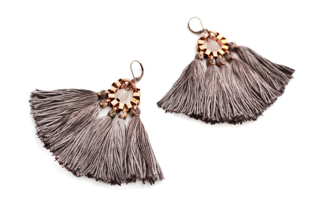 5 Tassel Earrings