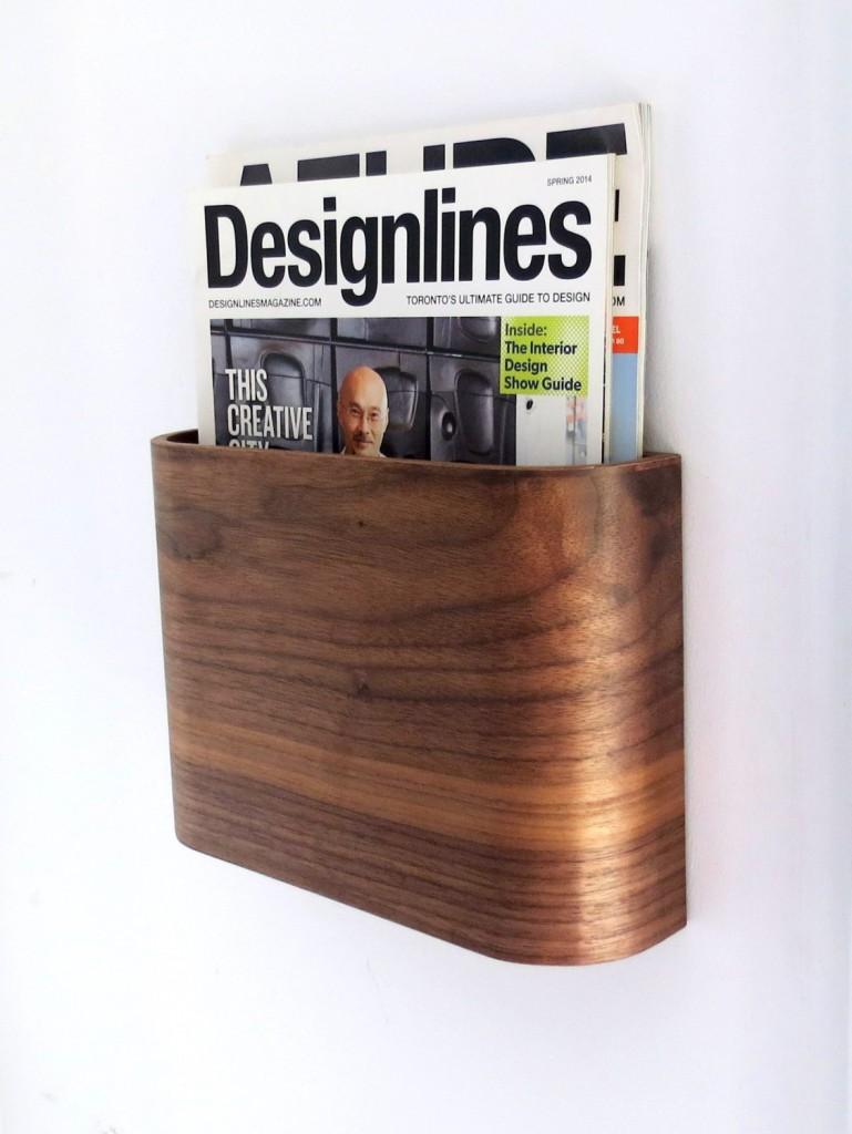 2 Magazine Rack